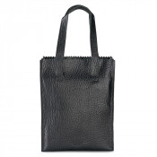 Myomy My Paper Bag Long Handle Zip Bubble Black