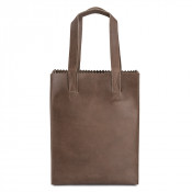 Myomy My Paper Bag Long Handle Zip Hunter Waxy Taupe