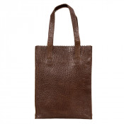 Myomy My Paper Bag Long Handle Zip Bubble Brandy