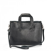 Myomy My Paper Bag Mini Handbag Cross Body Bubble Black
