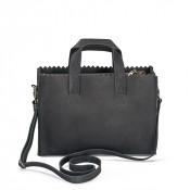 Myomy My Paper Bag Mini Handbag Cross Body Hunter Off Black