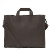 Myomy My Paper Bag Business Bag Hunter Off Black