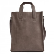 Myomy My Paper Bag Short Handle Cross-Body Hunter Taupe