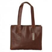 Myomy My Paper Bag Handbag Zip Anaconda Brandy