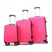 Decent Neon Fix 3-Delige Kofferset Pink