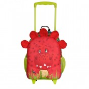 Okiedog Wildpack Junior Trolley Medium Dinosaur