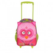Okiedog Wildpack Junior Trolley Medium Owl