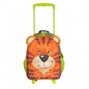 Okiedog Wildpack Junior Trolley Medium Tiger