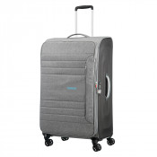 American Tourister SonicSurfer Spinner 80 Exp. Metal Grey