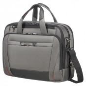 """Samsonite Pro-DLX 5 Laptop Bailhandle 15.6"""" Expandable Magnetic Grey"""