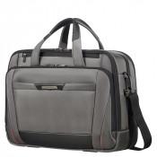 """Samsonite Pro-DLX 5 Laptop Bailhandle 17.3"""" Expandable Magnetic Grey"""