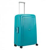 Samsonite S'Cure Spinner 75 Caribbean Blue/Vibrant Orange