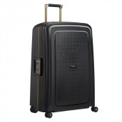 Samsonite S'Cure Deluxe Spinner 75 Black/Gold Deluscious