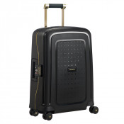 Samsonite S'Cure Deluxe Spinner 55 Black/Gold Deluscious