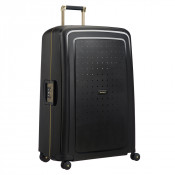 Samsonite S'Cure Deluxe Spinner 81 Black/Gold Deluscious