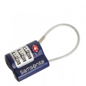 Samsonite Travel Accessoires TSA Kabelslot Indigo Blue