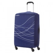 Samsonite Travel Accessoires Opvouwbare Kofferhoes M Indigo Blue
