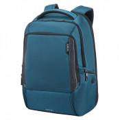 "Samsonite Cityscape Tech Laptop Backpack 17.3"" Expandable Space Blue"