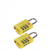 Samsonite Travel Accessoires Safe US Air Tr. 3 Combi Lock Yellow