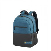 "American Tourister City Drift Laptop Backpack 13.3""-14.1"" Black/Blue"