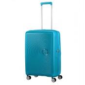 American Tourister Soundbox Spinner 67 Exp. Summer Blue