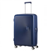American Tourister Soundbox Spinner 77 Exp. Midnight Navy