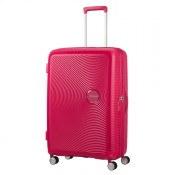 American Tourister Soundbox Spinner 77 Exp. Lightning Pink