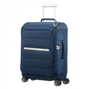 Samsonite Flux Soft Spinner 55 Toppocket Navy Blue