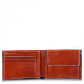 Piquadro Blue Square Men's Wallet 7 Creditcards Orange
