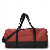 Rains Original Travel Duffel Bag Scarlet