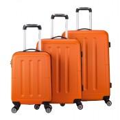 Decent Neon Fix 3-Delige Kofferset Oranje