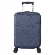 Decent Q-Luxx Cabin Trolley 55 Dark Blue