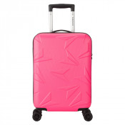Decent Q-Luxx Cabin Trolley 55 Pink