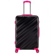 Decent Lumi Fix Spinner Koffer 77 Black/Pink