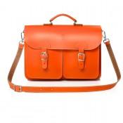OldSchool Bags Schooltas Extra Large Oranje