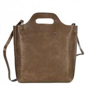 Myomy My Carry Bag Shopper Medium Anaconda Taupe