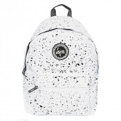 Hype Splat Rugzak White/ Black