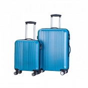Decent Tobi 2-Delige Kofferset Turquoise