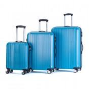 Decent Tobi 3-Delige Kofferset Turquoise