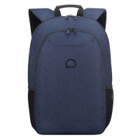 "Delsey Esplanade Laptop Backpack 17.3"" Navy"