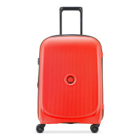Delsey Belmont Plus Cabin Slim Spinner 55 Faded Red