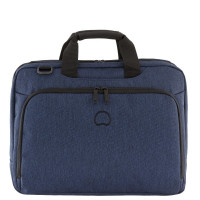 "Delsey Esplanade Laptop Bag 2-CPT 15.6"" Navy"