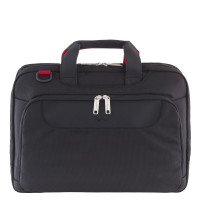 "Delsey Parvis Plus Laptop Bag 2-CPT 15.6"" Black"