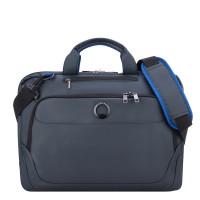 """Delsey Parvis Plus Laptop Bag 1-CPT 15.6"""" Grey"""