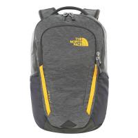 The North Face Vault Backpack Asphalt Grey Dark Heather/Zinnia Orange