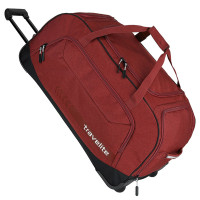 Travelite Kick Off Wheeled Duffle Red