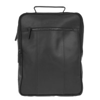 "DSTRCT Riverside Laptop Backpack A4 15.6"" Black"