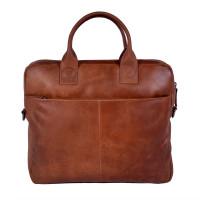 DSTRCT Fletcher Street Business Laptoptas 13.3'' Cognac 016120