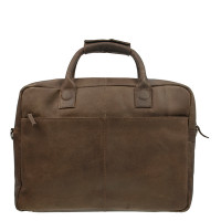 DSTRCT Fletcher Street Business Laptoptas 17'' Brown 016420