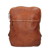 """DSTRCT Pearl Street Backpack 15.6"""" Cognac 26020"""
